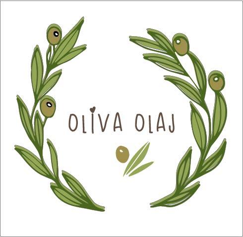 Olíva olaj címke