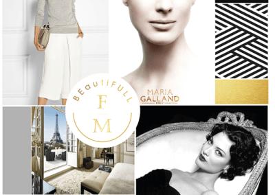Frang Maya Luxus kozmetika logó, arculat
