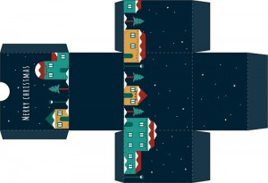 Karácsonyi Kivágós Doboz nézőkép