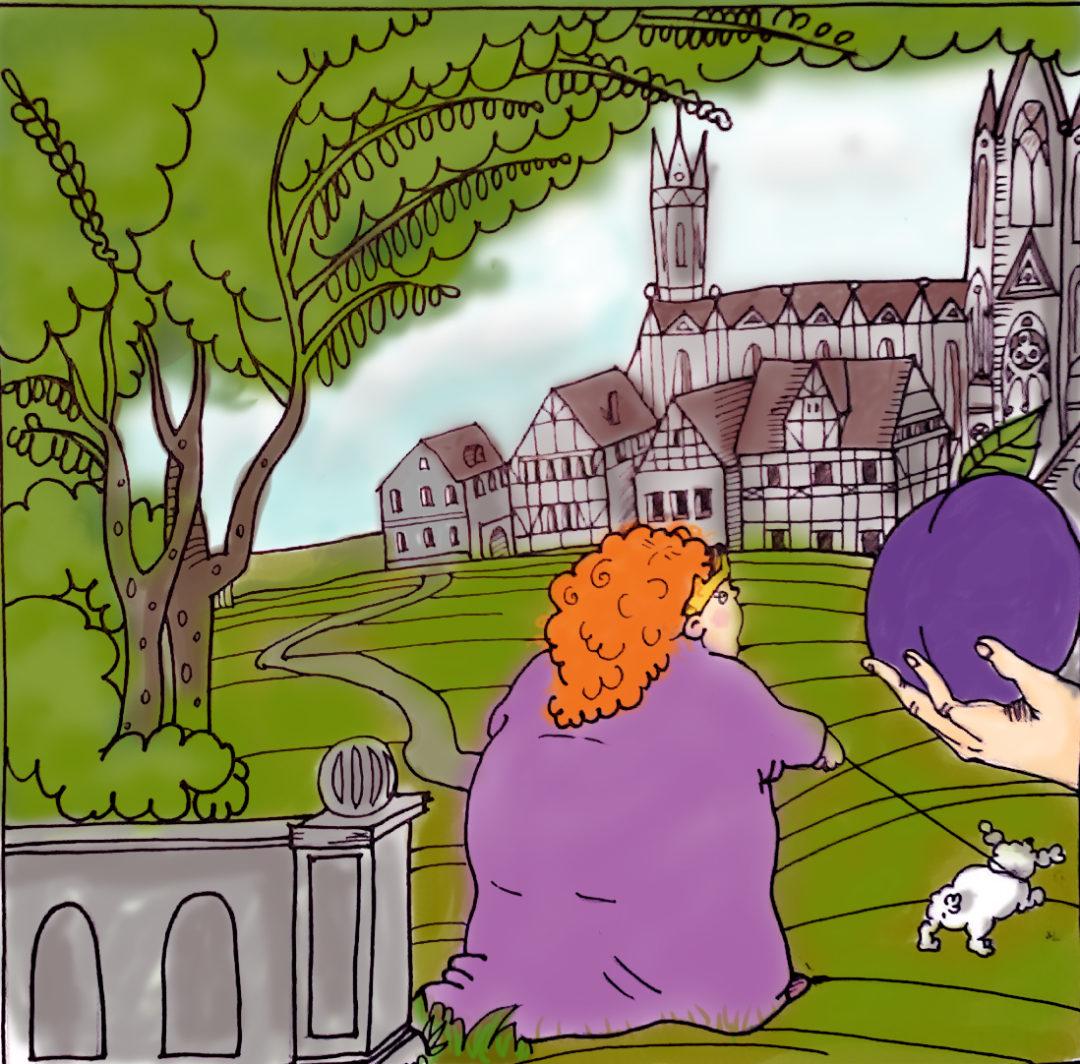 Séta a katedráliskertben