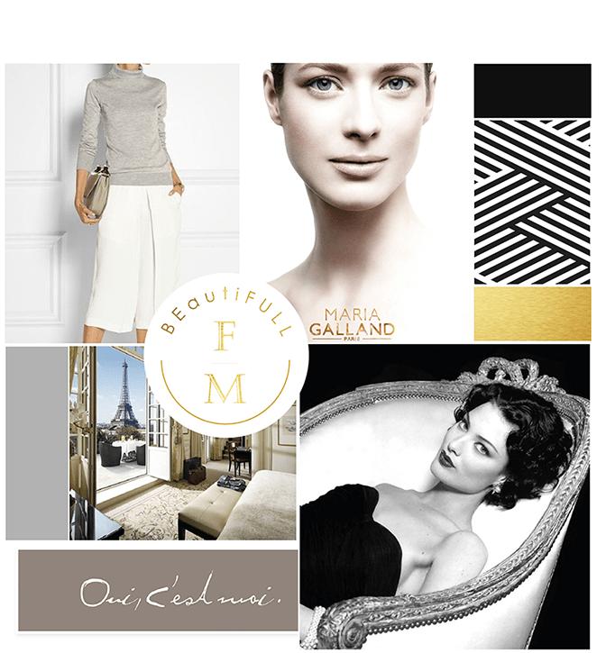 Frang Maya luxus kozmetika logó, arculat, inspirációk