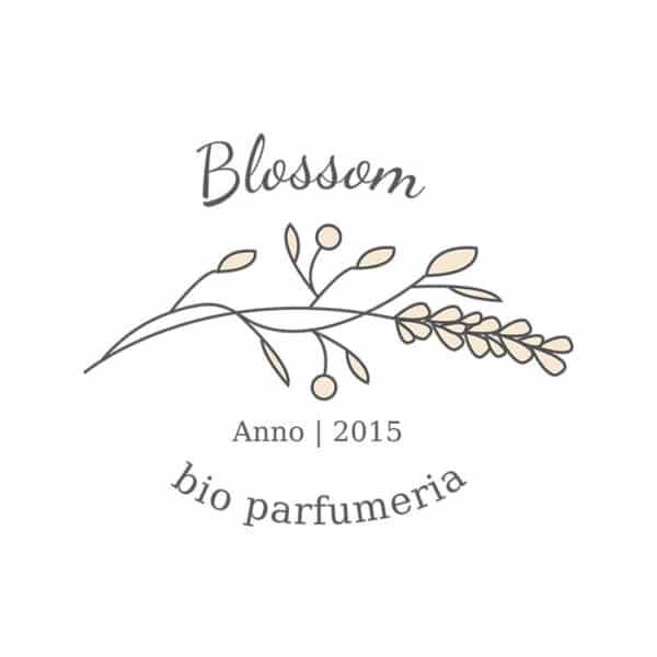 Blossom minimal, virágos logó
