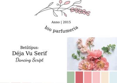 Blossom brand board, arculati tábla blossom logóhoz