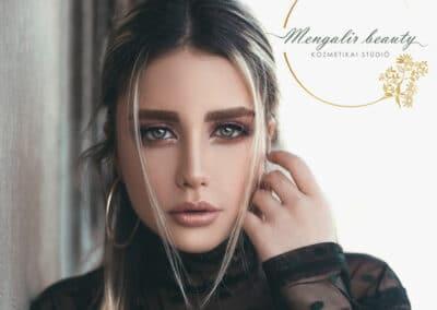 Mengalir beauty kozmetikai stúdió logó
